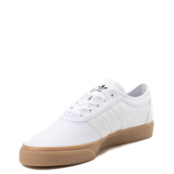 alternate view Mens adidas Adi-Ease Skate Shoe - WhiteALT3