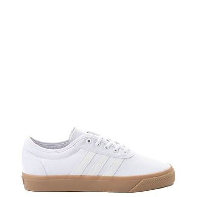 Main view of Mens adidas Adi-Ease Skate Shoe - White
