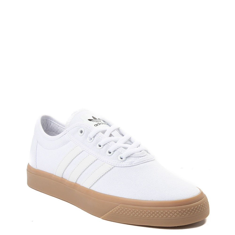 Mens adidas Adi-Ease Skate Shoe - White