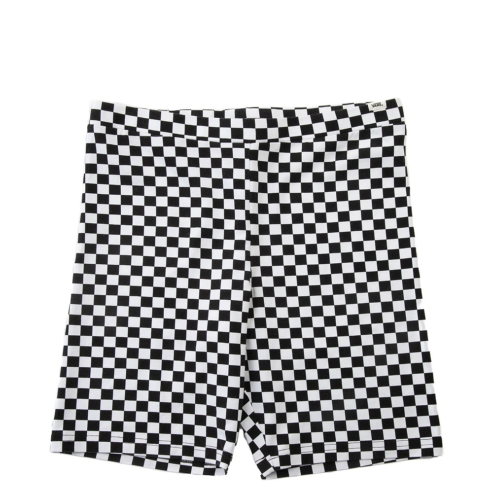 Womens Vans Checkered Bike Shorts