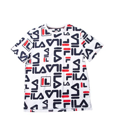 Alternate view of Fila All-Over Logo Tee - Little Kid