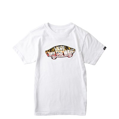 Main view of Toddler Vans Off The Wall Crew Tee