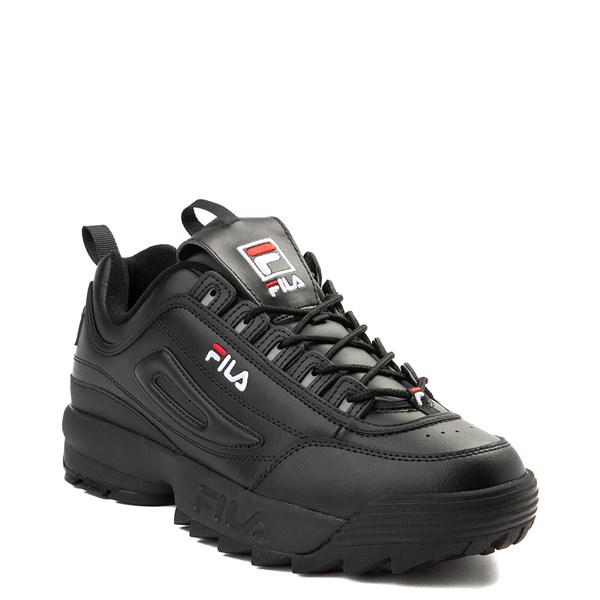 alternate view Mens Fila Disruptor 2 Premium Athletic Shoe - BlackALT1