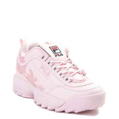 Womens Fila Disruptor II Rose Athletic Shoe d1b4768ac9eb