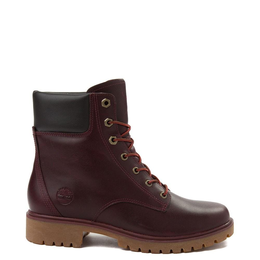 "Womens Timberland Jayne 6"" Boot - Burgundy"