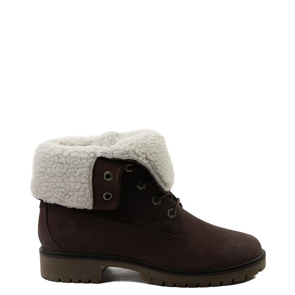 Womens Timberland Jayne Fleece Boot - Burgundy