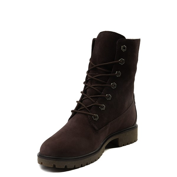 alternate view Womens Timberland Jayne Fleece Boot - BurgundyALT3