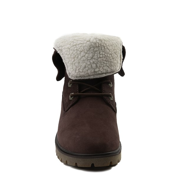 alternate view Womens Timberland Jayne Fleece Boot - BurgundyALT4
