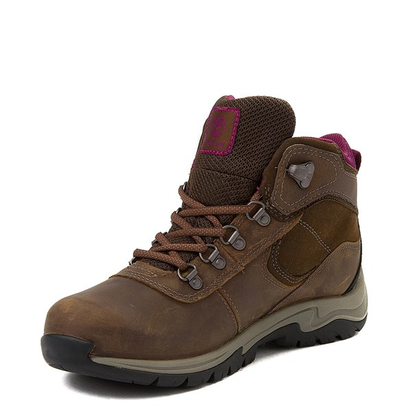 alternate view Womens Timberland Mt. Maddsen Hiker Boot - BrownALT3