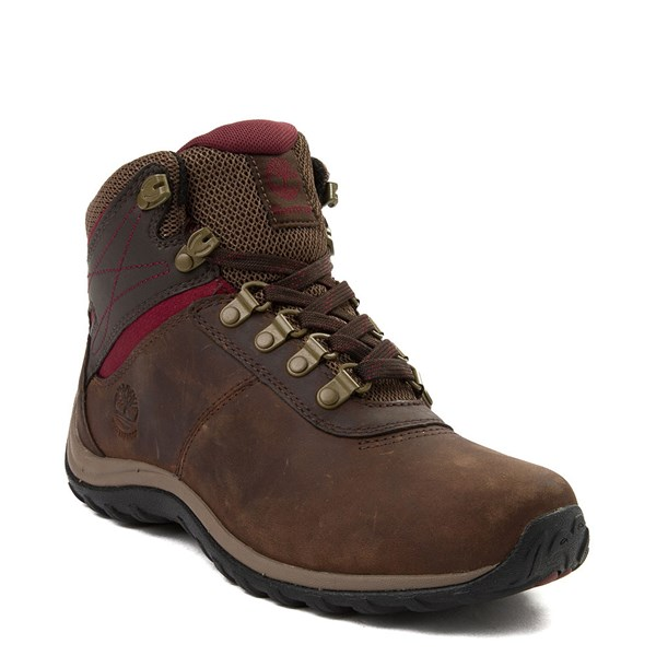 alternate view Womens Timberland Norwood Mid Hiking Boot - Dark BrownALT1