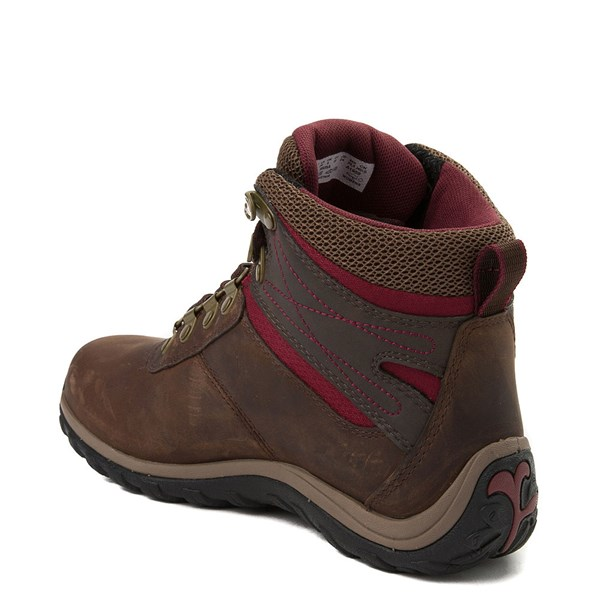 alternate view Womens Timberland Norwood Mid Hiking Boot - Dark BrownALT2