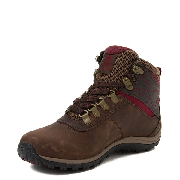 alternate view Womens Timberland Norwood Mid Hiking Boot - Dark BrownALT3