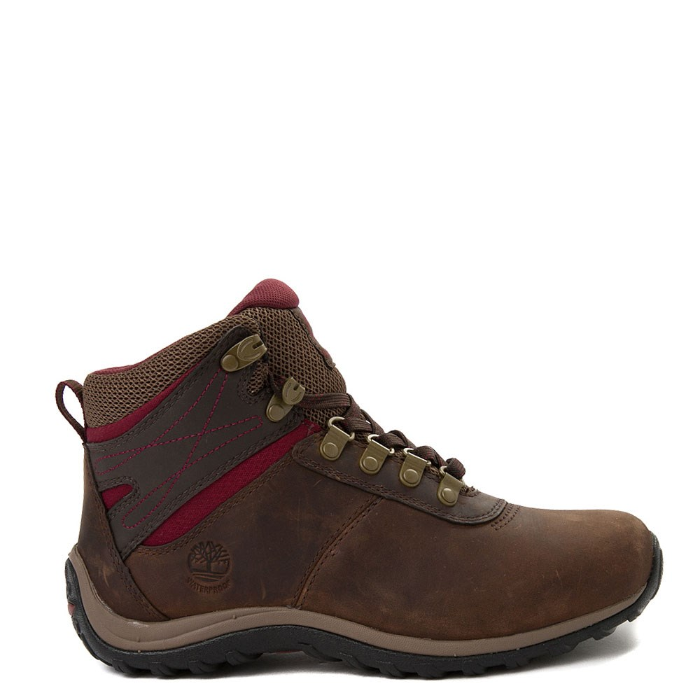 Womens Timberland Norwood Mid Hiking Boot - Dark Brown