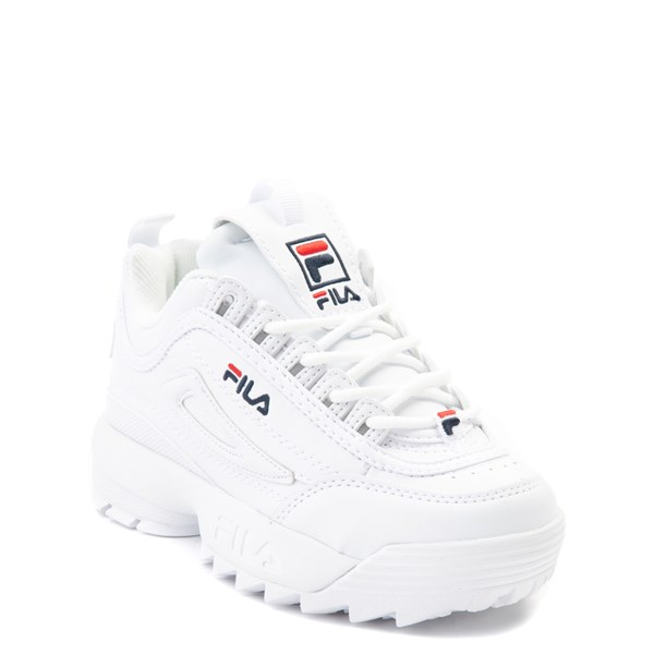 alternate view Fila Disruptor 2 Athletic Shoe - Little Kid - WhiteALT1