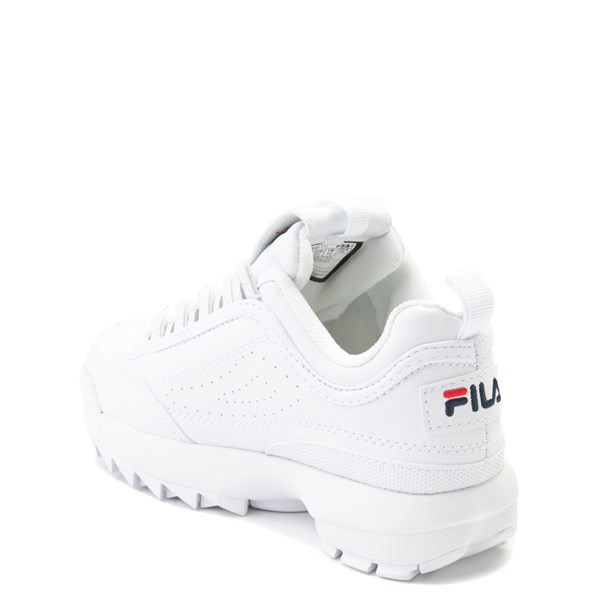 alternate view Fila Disruptor 2 Athletic Shoe - Little Kid - WhiteALT2