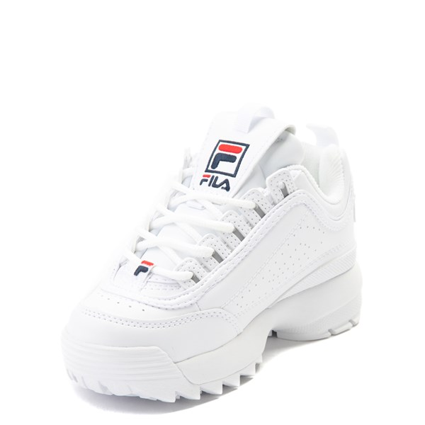 alternate view Fila Disruptor 2 Athletic Shoe - Little Kid - WhiteALT3