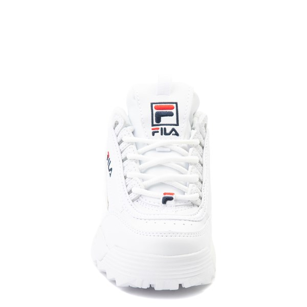 alternate view Fila Disruptor 2 Athletic Shoe - Little Kid - WhiteALT4