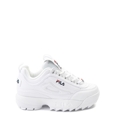 Main view of Fila Disruptor 2 Athletic Shoe - Little Kid - White