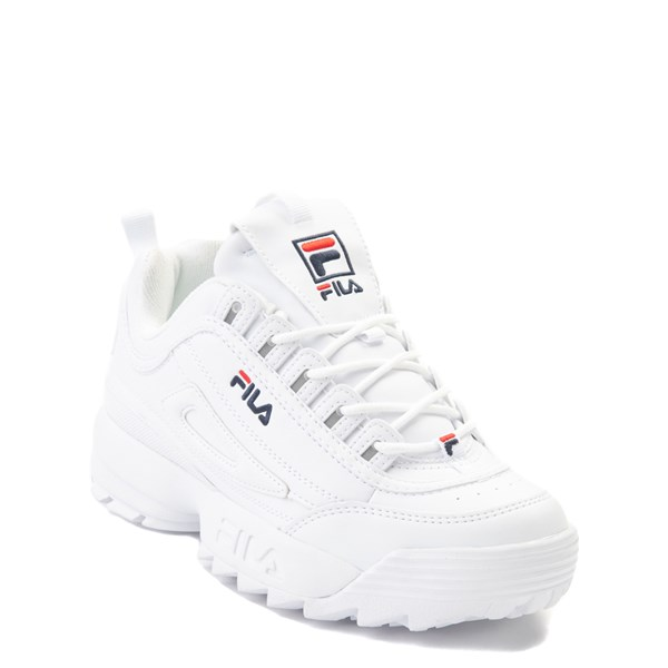 alternate view Fila Disruptor 2 Athletic Shoe - Big Kid - WhiteALT1