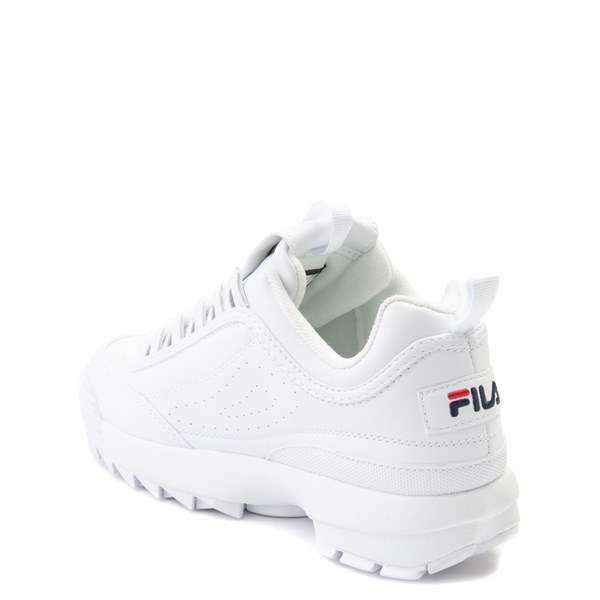 alternate view Fila Disruptor 2 Athletic Shoe - Big Kid - WhiteALT2