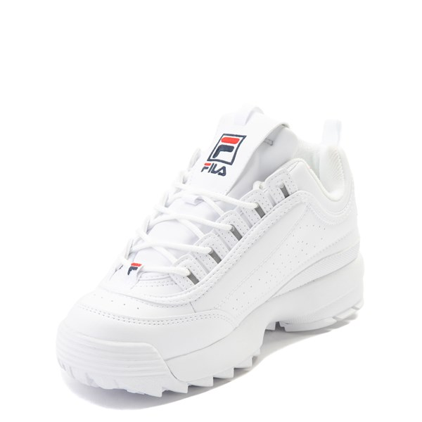 alternate view Fila Disruptor 2 Athletic Shoe - Big Kid - WhiteALT3