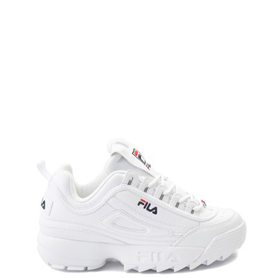 Main view of Fila Disruptor 2 Athletic Shoe - Big Kid - White