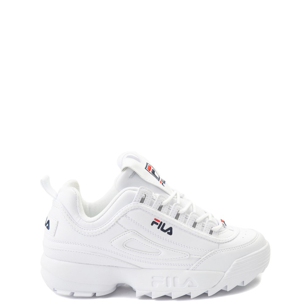 Fila Disruptor 2 Athletic Shoe - Big Kid - White