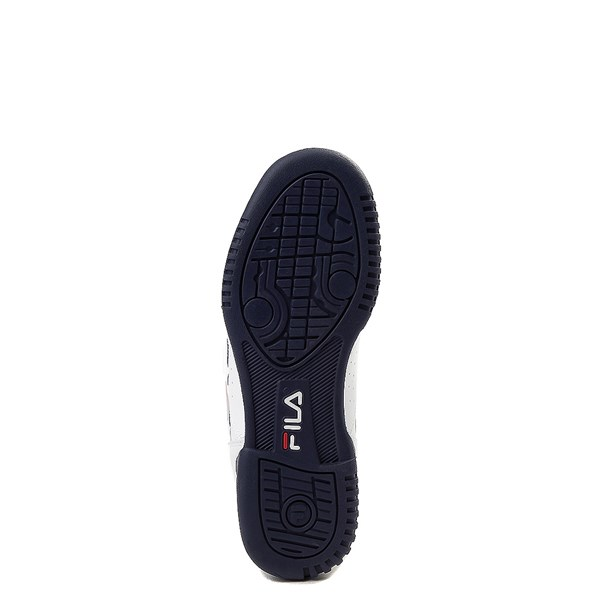 alternate view Fila Original Fitness Athletic Shoe - Little Kid - White / Navy / RedALT5