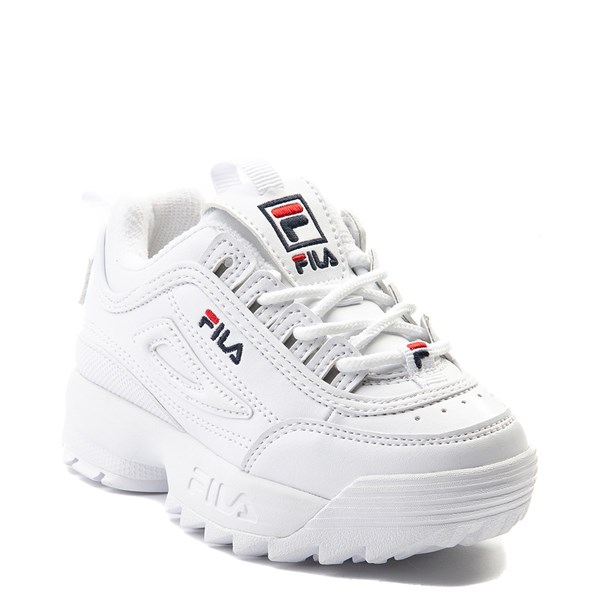 alternate view Fila Disruptor 2 Athletic Shoe - Baby / Toddler - WhiteALT1