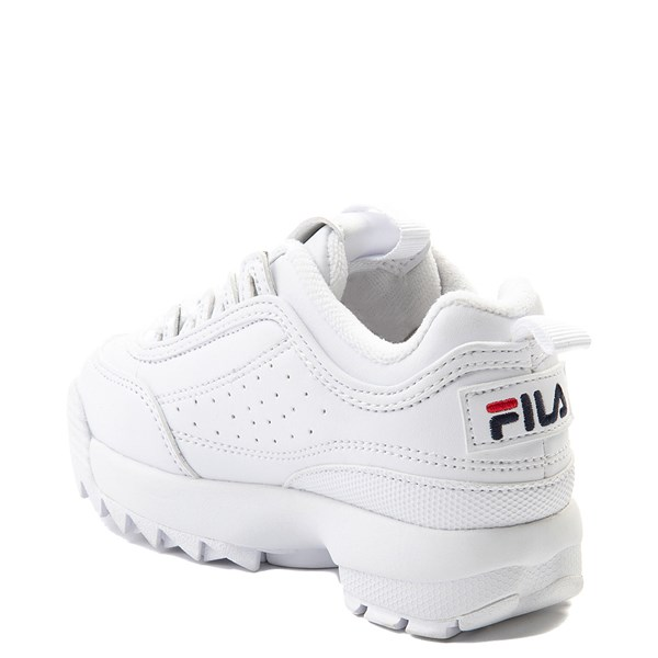 alternate view Fila Disruptor 2 Athletic Shoe - Baby / Toddler - WhiteALT2