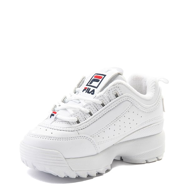 alternate view Fila Disruptor 2 Athletic Shoe - Baby / Toddler - WhiteALT3