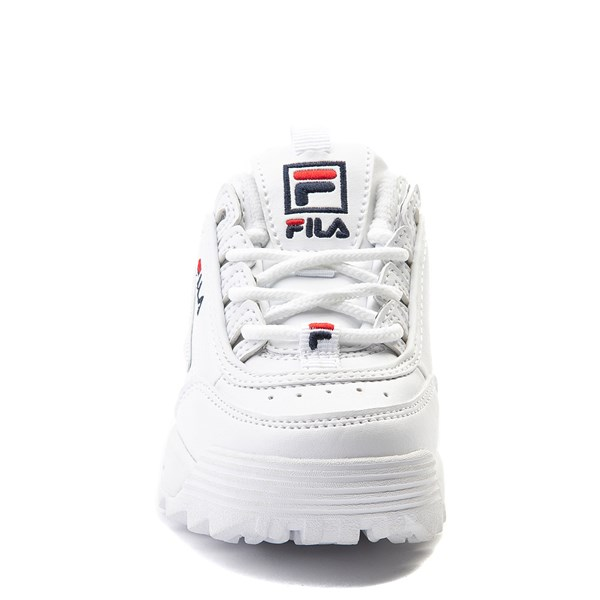 alternate view Fila Disruptor 2 Athletic Shoe - Baby / Toddler - WhiteALT4