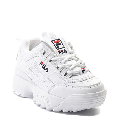 Alternate view of Fila Disruptor 2 Athletic Shoe - Baby / Toddler - White
