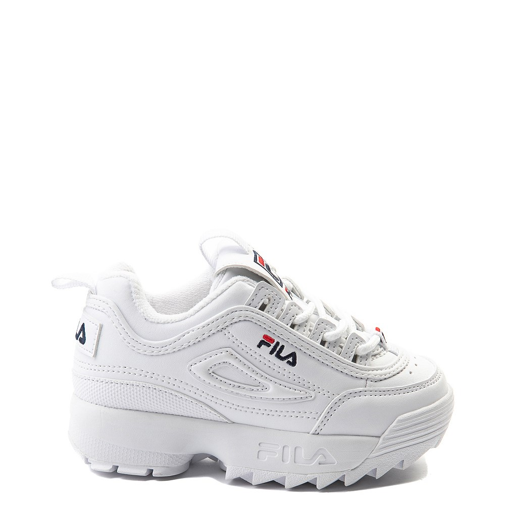 Fila Disruptor 2 Athletic Shoe Baby Toddler White