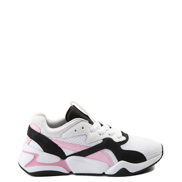 Womens Puma Nova '90s Athletic Shoe - Pink