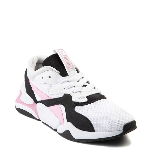 alternate view Womens Puma Nova '90s Athletic Shoe - PinkALT1