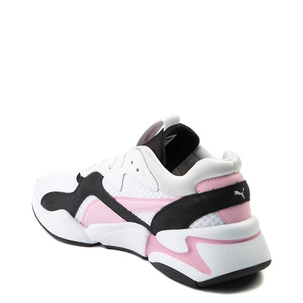alternate view Womens Puma Nova '90s Athletic Shoe - PinkALT2