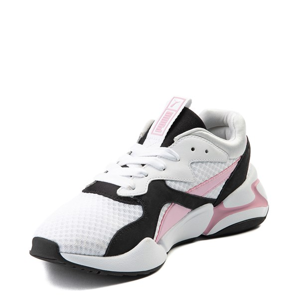 alternate view Womens Puma Nova '90s Athletic Shoe - PinkALT3