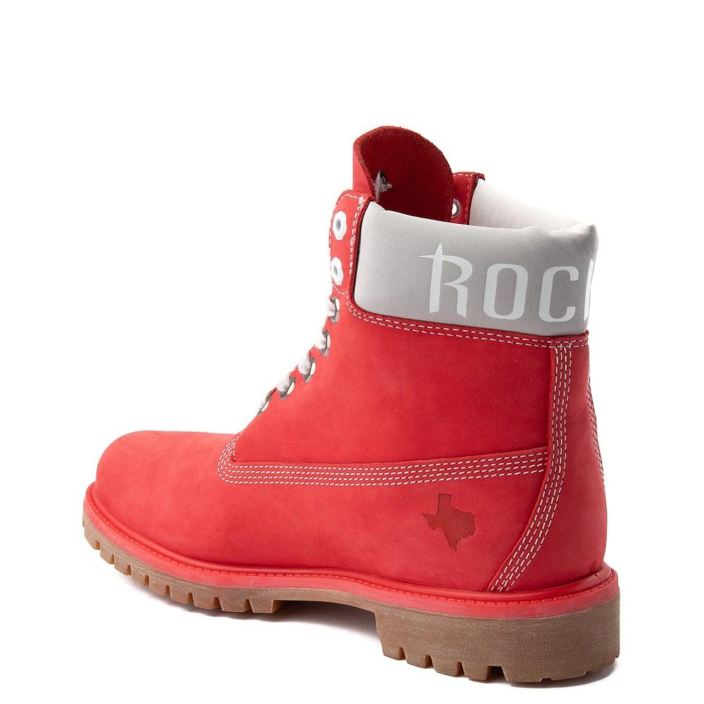 "Mens Timberland X NBA Houston Rockets 6"" Boot"
