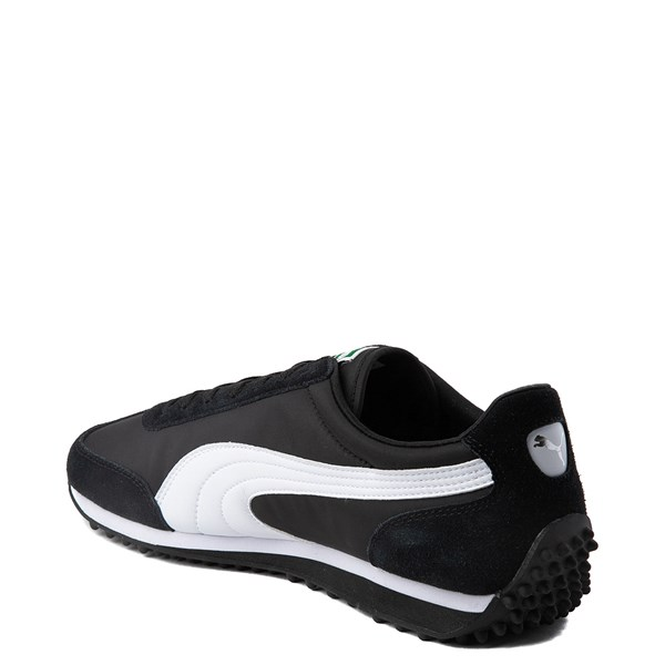 alternate view Mens Puma Whirlwind Classic Athletic Shoe - Black / WhiteALT2