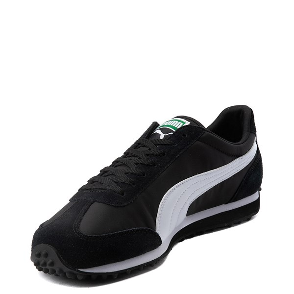 alternate view Mens Puma Whirlwind Classic Athletic Shoe - Black / WhiteALT3
