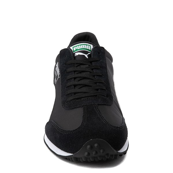 alternate view Mens Puma Whirlwind Classic Athletic Shoe - Black / WhiteALT4