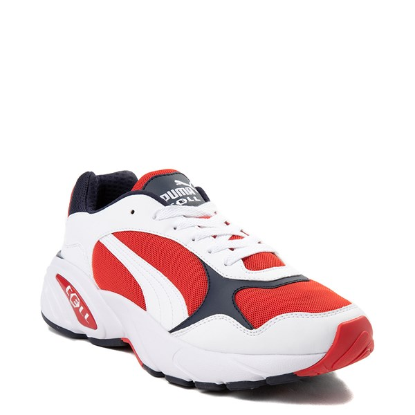 alternate view Mens Puma Cell Viper Athletic Shoe - White / Navy / RedALT1