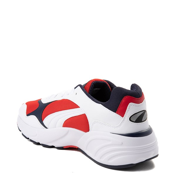 alternate view Mens Puma Cell Viper Athletic Shoe - White / Navy / RedALT2