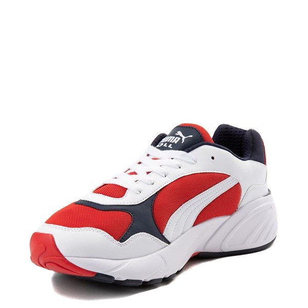 alternate view Mens Puma Cell Viper Athletic Shoe - White / Navy / RedALT3
