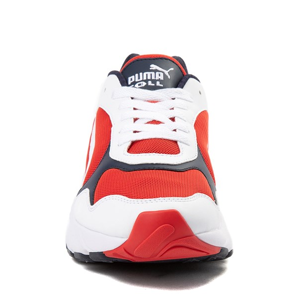 alternate view Mens Puma Cell Viper Athletic Shoe - White / Navy / RedALT4