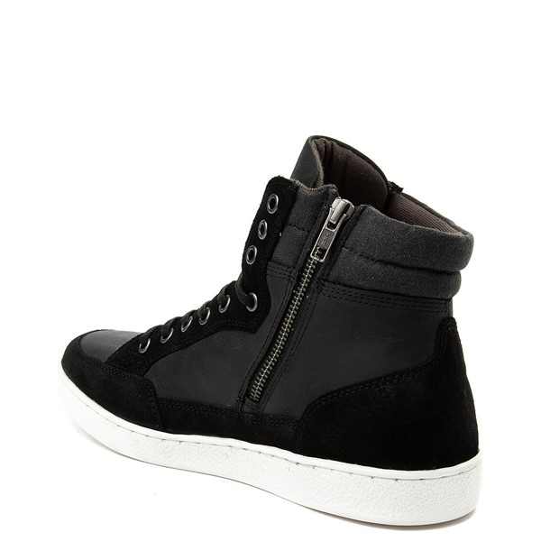 alternate view Mens Crevo Seiler Sneaker Boot - BlackALT1