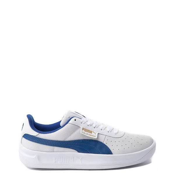 Mens Puma California Athletic Shoe - White / Royal Blue