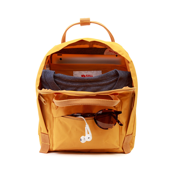 alternate view Fjallraven Kanken Mini Backpack - Ochre YellowALT1
