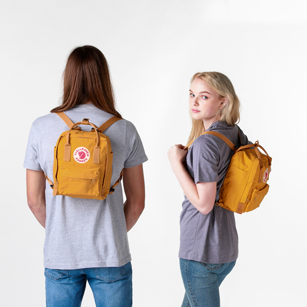 alternate view Fjallraven Kanken Mini Backpack - Ochre YellowALT1BADULT